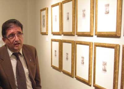 José Luis Pano, comisario de la exposición
