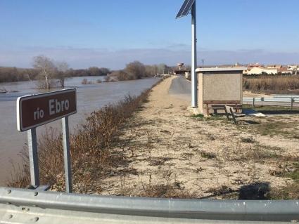 Los agricultores y ganaderos afectados por la riada extraordinaria del Ebro de 2018 cobrarán las ayudas a finales de este mes