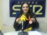 María Laborda pregonera de las Fiestas Ejea 2019