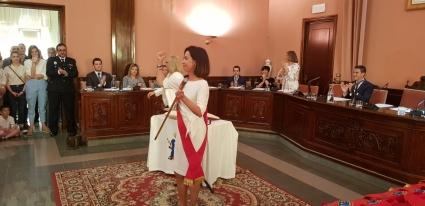 La socialista Teresa Ladrero toma posesión como alcaldesa de Ejea de los Caballeros
